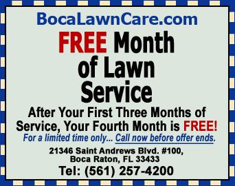 Boca Raton Lawn Landscape Maintenance